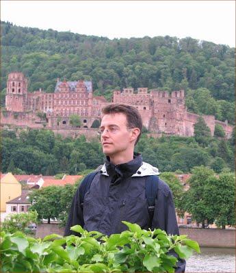 Heidelberg, Vert Crop w drk brn border